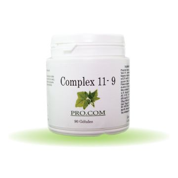 COMPLEXE 11 VITAMINES 9 MINERAUX 90 GÉLULES A 323 MG